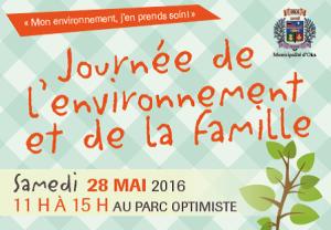 Journée de l'environnement et de la famille